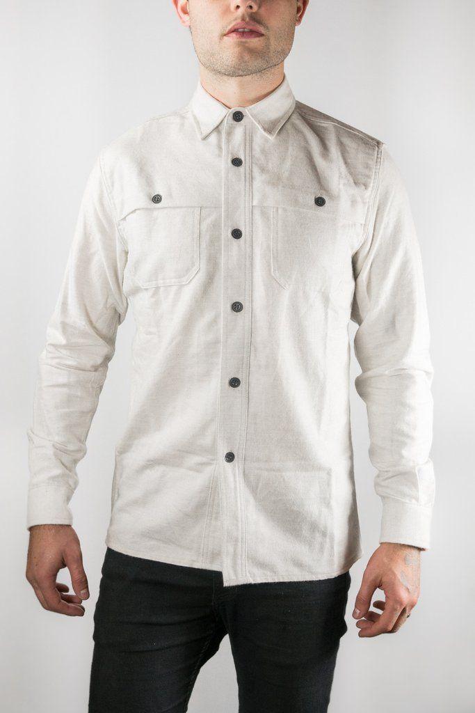 f6b362a96e1 3 Sixteen Ivory Hunting Shirt
