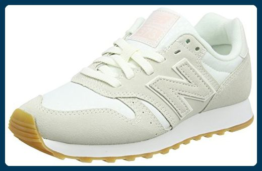 New Balance, Damen Sneaker, Weiß (Cream), 39 EU (6 UK