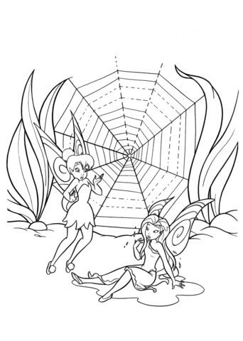 Click to see printable version of Spiderweb Coloring page | Coloring ...