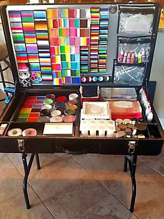Craft N Go Face Painting Workstation Face Paint Ideas Face