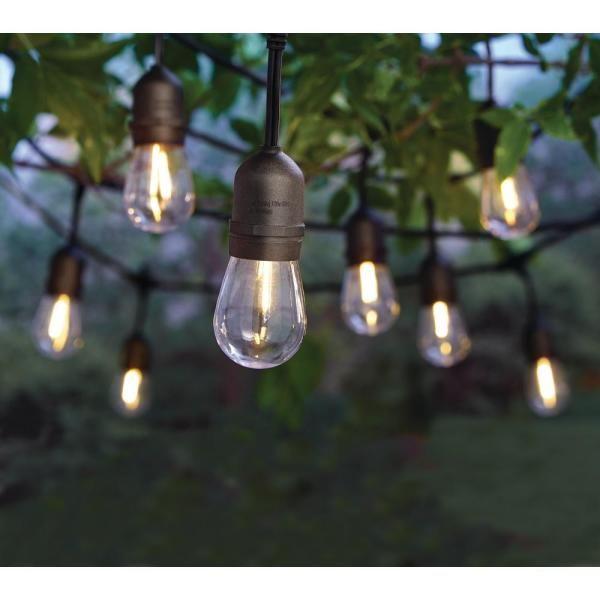 Pin By Jaime Scott On Squeri Back Yard In 2020 Hampton Bay Led Bulb Outdoor Light Bulbs