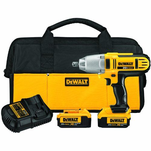 bc678913388 DEWALT DCF889M2 20-volt MAX Lithium Ion 1 2-Inch High Torque Impact Wrench  with Detent Pin Was   640.22 Now   329.00