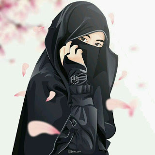 kumpulan anime kartun muslimah bercadar cadar hijrah
