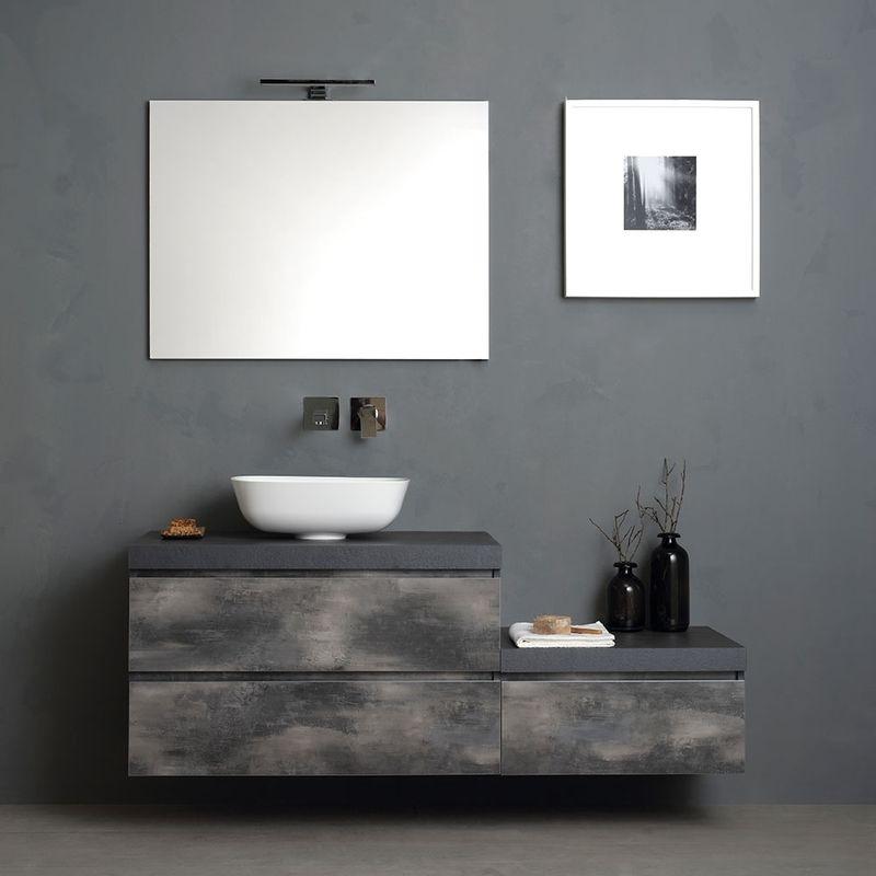 Stock Di Arredo Bagno.Mobile Bagno Componibile Da 150 Cm Con Lavabo D Arredo
