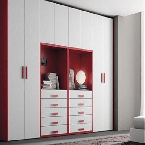 Ropero para ni as muebles en melamina construccion en - Armarios para habitacion nina ...