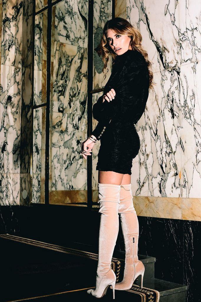 Evening Dress Boots