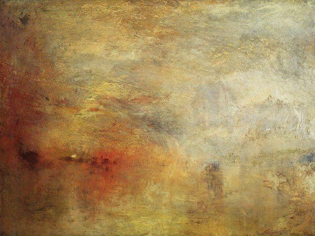 William Turner Maler Der Elemente Kultur Online