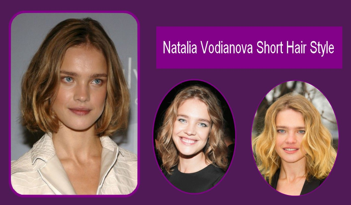 Natalia vodianova short hair style hairstye pinterest