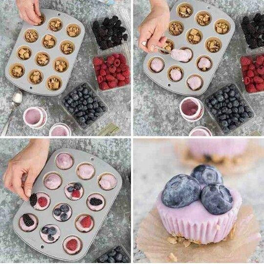 #Frozen #Frutas #yogurt #Semillas #Almendras