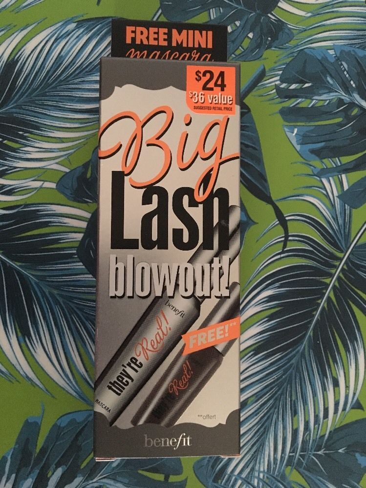 a9a8a39e87c Benefit They're Real Mascara Big Lash Blowout FREE mini Mascara Set | eBay