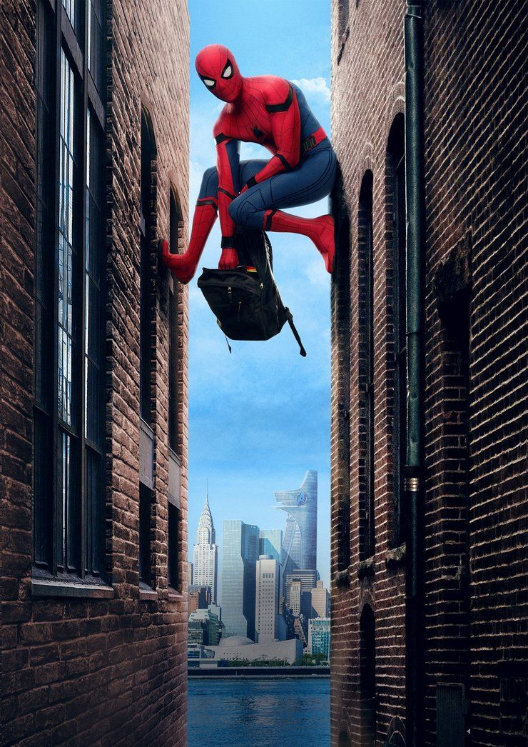 Spider man homecoming poster also cosas que ponerse fondos rh co pinterest