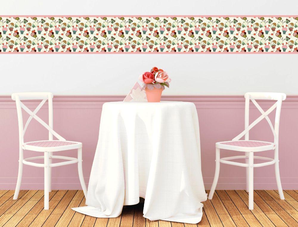 Cupcake Bordüre für die Küche - I-love-Wandtattoode Küchen