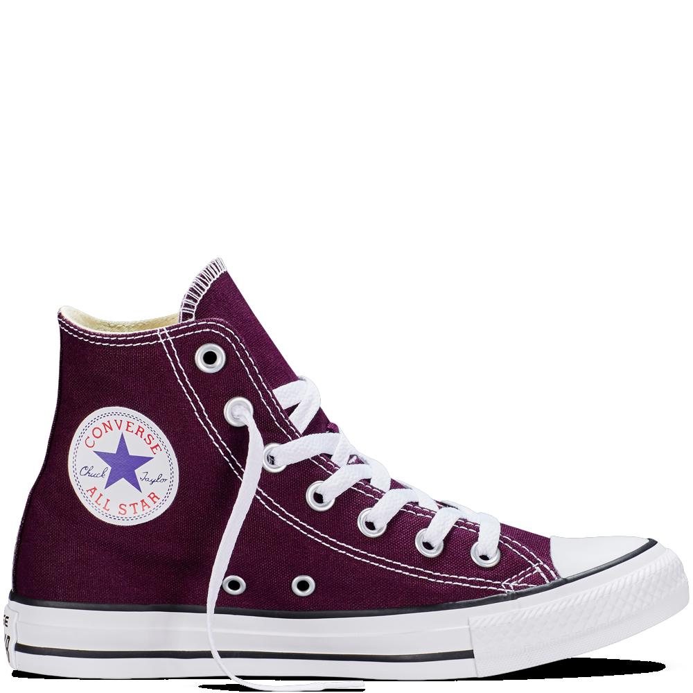 f06e54bd7ee0 Converse - CT All Star Fresh Hi Canvas Sneakers (Big Kid) - Black Cherry