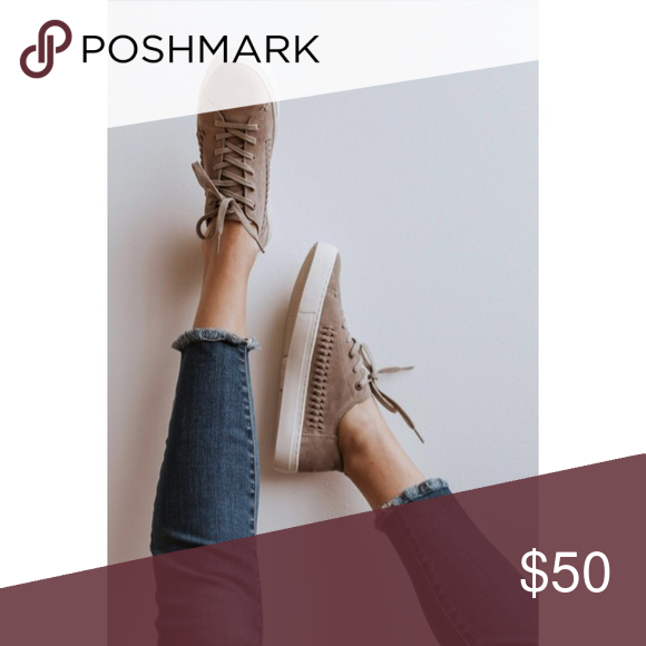 Spotted while shopping on Poshmark Toms Brown Suede Lenox Sneakers