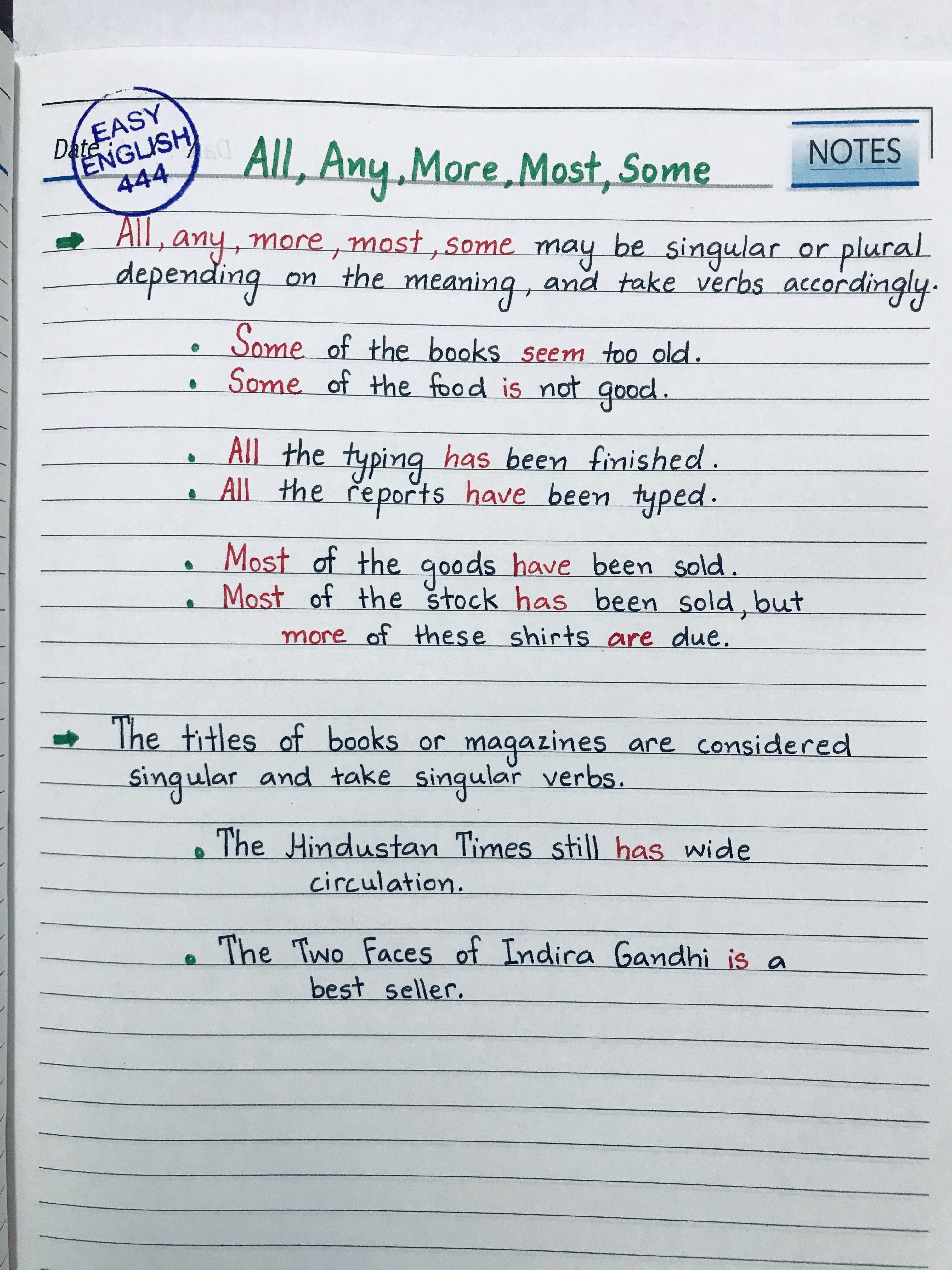 Grammar In