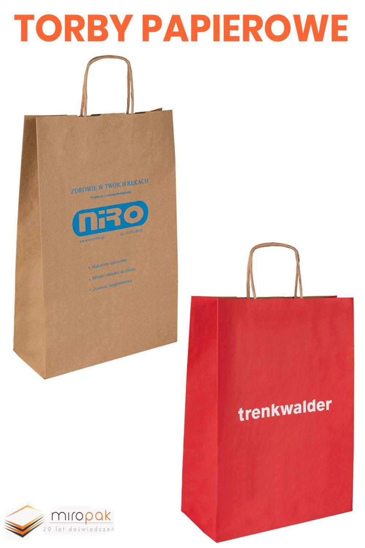 Torby Papierowe Z Twoim Nadrukiem Lub Nazwa Firmy Miropak Pl Shopping Bag Bags Paper Shopping Bag