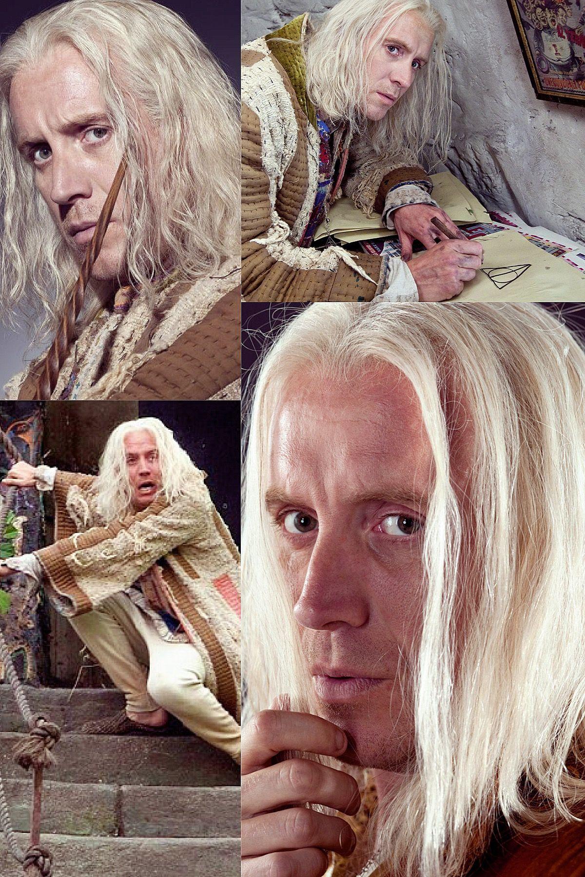 Xenophilius Lovegood Harry Potter Hogwarts Wizardry