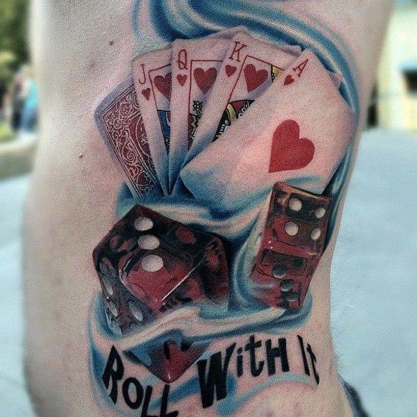 Tatuaz Karty I Kosci Szukaj W Google Tatoo Sowa Tattoos