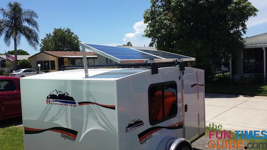 How To Install Rv Solar Panels On A Small Teardrop Type