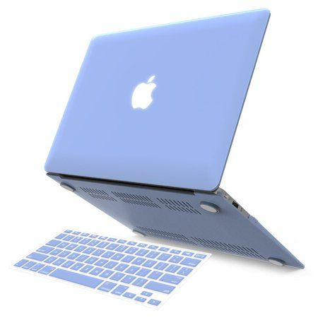 Ibenzer Basic Soft Touch Series Plastic Hard Case Keyboard Cover For Apple Macbook Air 13 Inch 13 A1369 1466 Serenity Blue Walmart Com Macbook Air Case Macbook Air Case 13 Inch Laptop Case