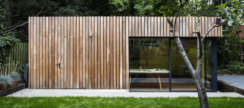 garden office sheds. This Stunning Garden Office With Bike Shed Was Built For A Freelance Photographer, Who Required Sheds