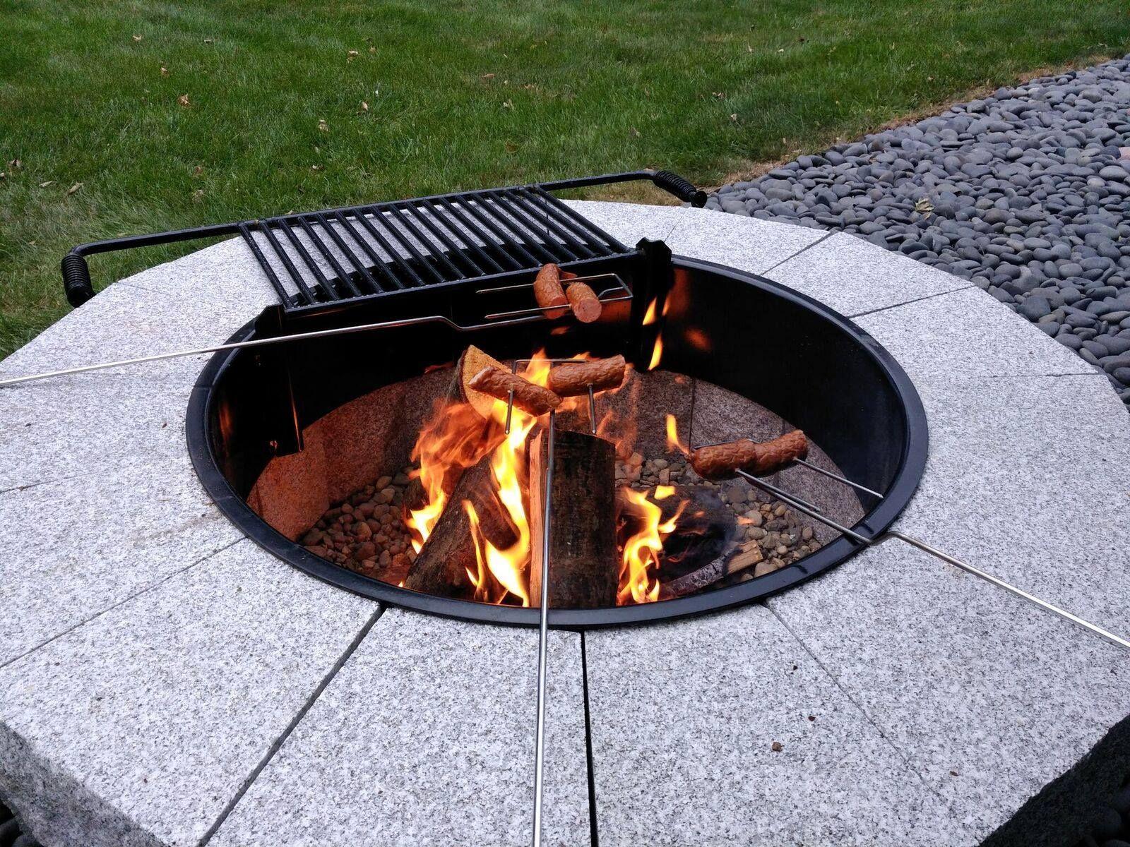 Swenson Granite Diy Fire Pit Granite Fire Pit Fire Pit Fire Pit Backyard