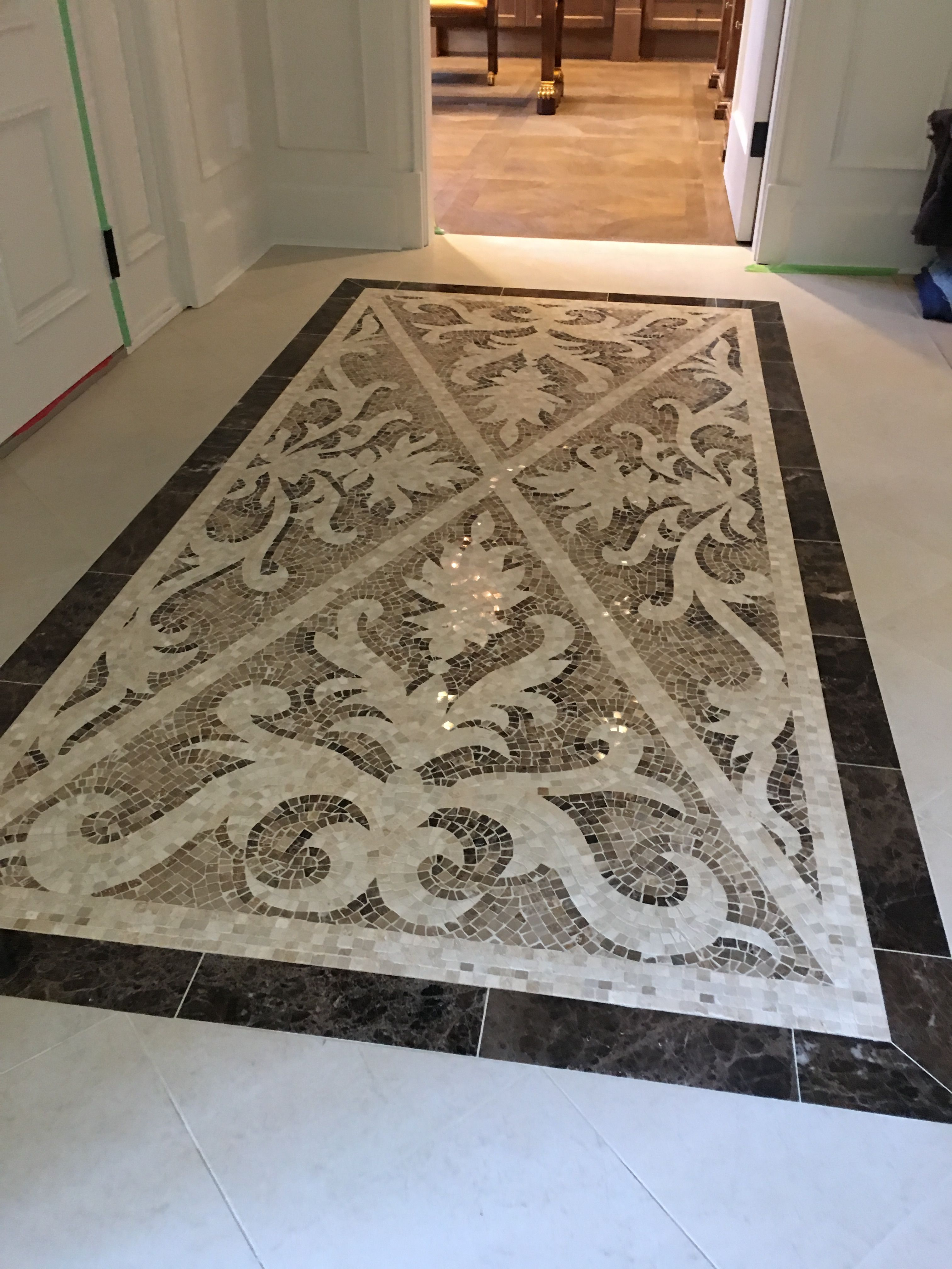 A beautiful Sicis Medallion from World Mosaic Tile | Customer ...