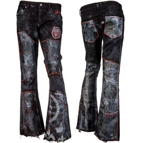 698706ee Pin by Tess Walker on Cute Cloths | Leather pants, Black denim, Pants