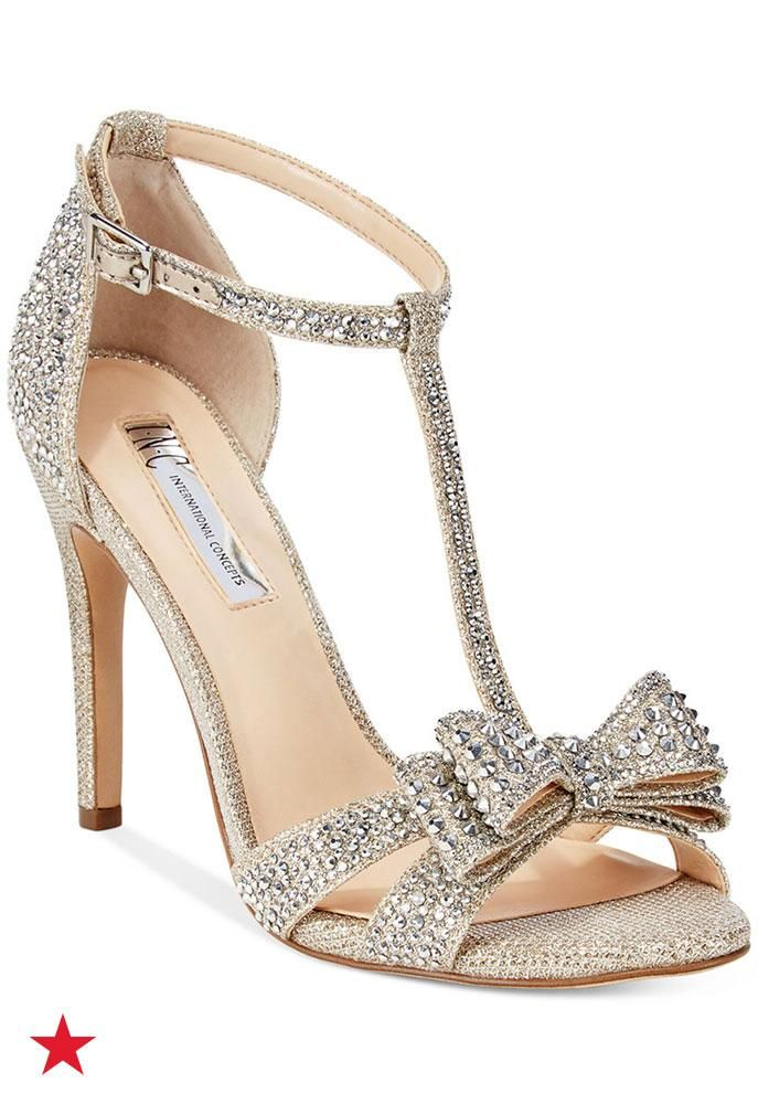 08d2362dee9 Need new shoes for prom  Visit Macy s for these sparkly INC International  Concepts® rhinestone sandals that ll immediately complete your evening look.