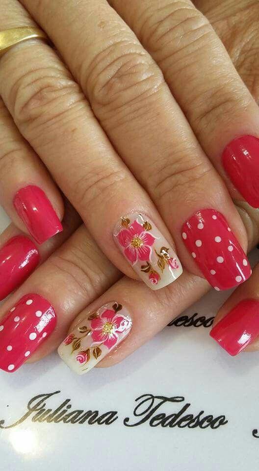 Pin de Marielobris en Uñas | Pinterest | Diseños de uñas, Manicuras ...