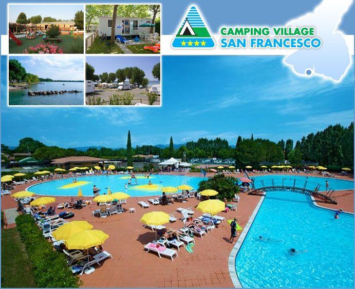 camping village san francesco garda italie campings italie. Black Bedroom Furniture Sets. Home Design Ideas
