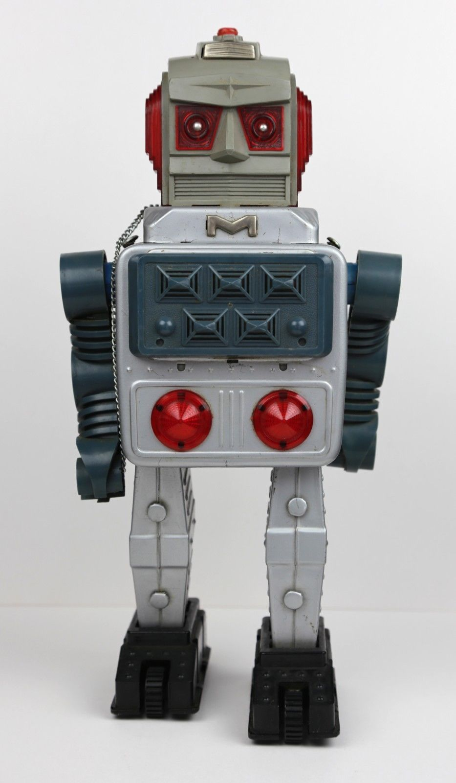 Japanese Tin Toy Robots : Alps missile robot vintage s japanese tin litho