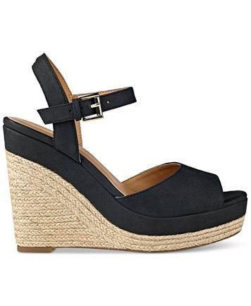 90bae93fe Tommy Hilfiger Kali Platform Espadrille Wedge Sandals