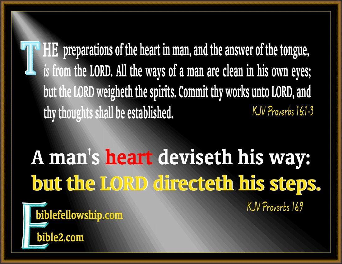 God leading His Sheep. KJV Proverbs 1613, 9 (With images