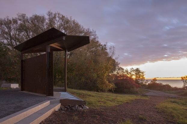 east point park bird sanctuary pavilions toronto canada small