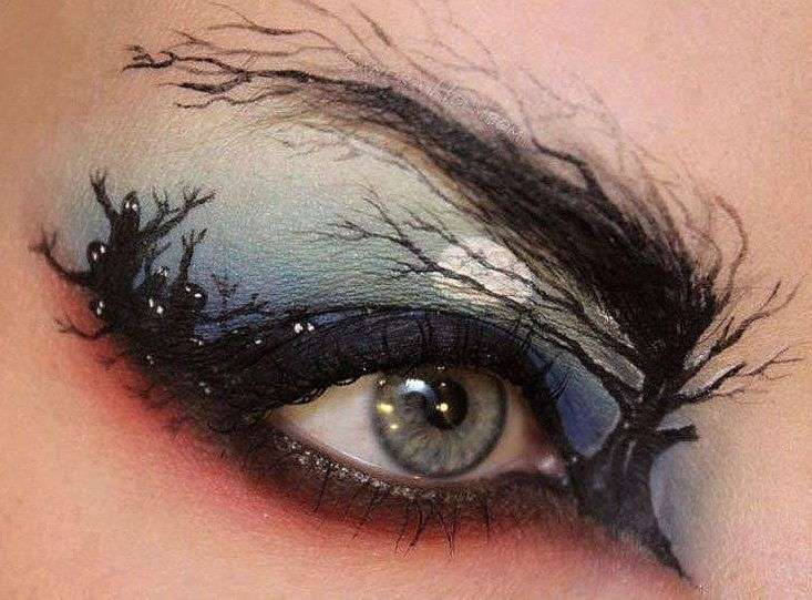 face painting designs ideas pictures or paint for beginners or pros global - Halloween Makeup For Beginners