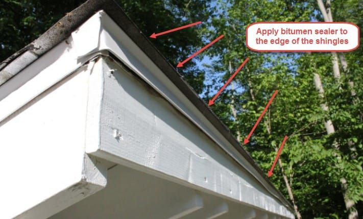 How to Finish the Top Edge of a Shed Roof | Shed roof ...