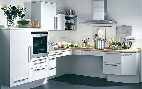 Une Cuisine Moderne Parfaitement Fonctionnelle Pour PMR Home - Cuisine pmr