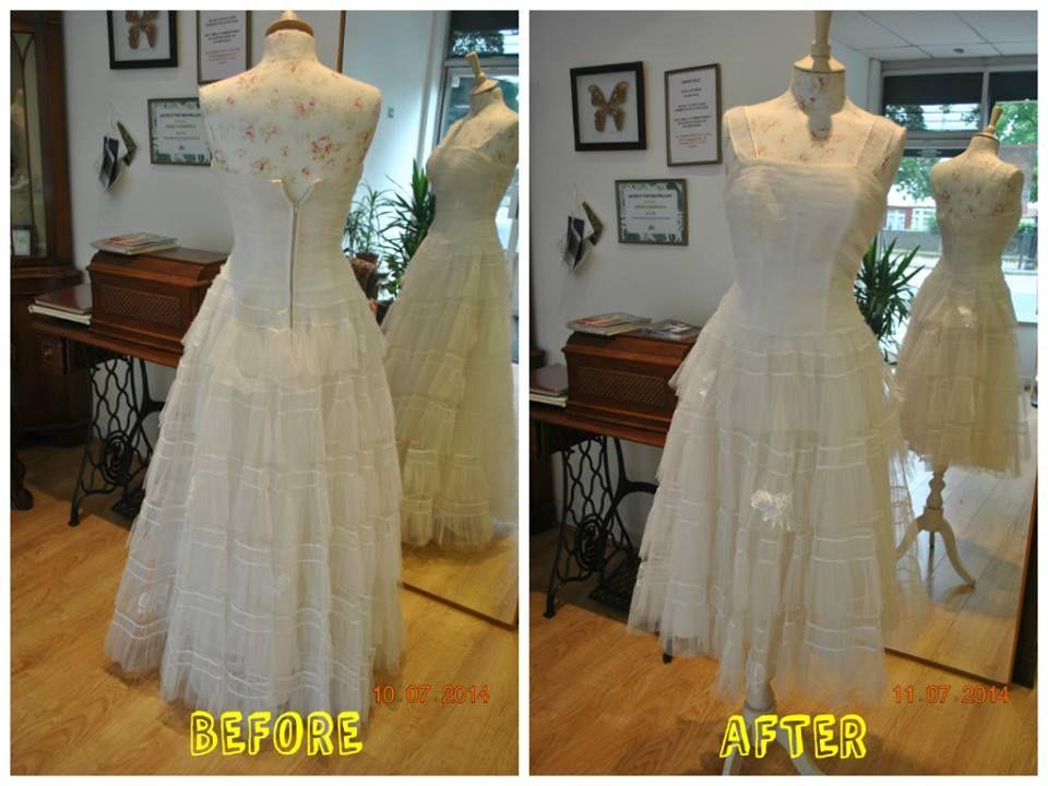 Vintage Wedding Dress Before And After Alteration Result Added New Straps Shortened Hem Re Sized Wedding Dress Alterations Wedding Dresses Vintage Dresses,Wedding Dresses For Girls 2020 Kids