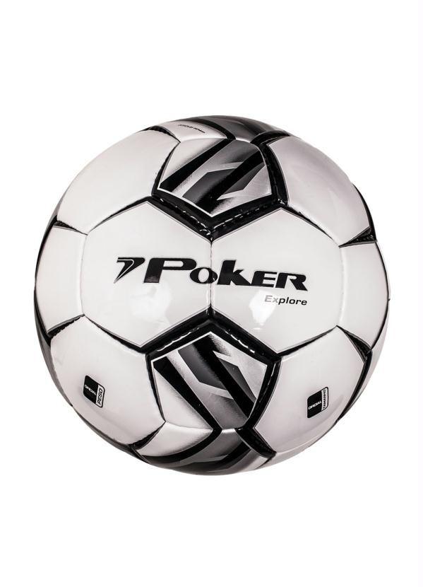 Bola Futsal Poker Explore Extra Branca Preta Em 2020 Acessorios