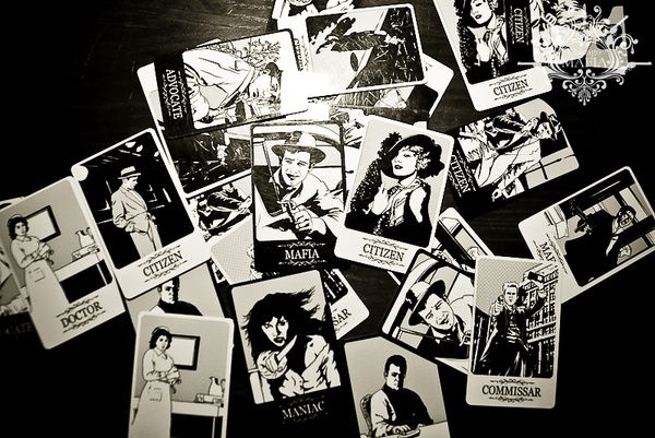 Party Game Cards Design For Chicago Mafia By Elena Galitsky Via