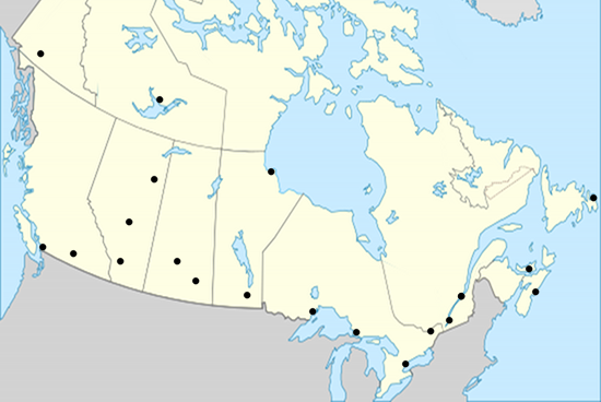 Canadian cities map quiz jetpunk quizzes and trivia geography canadian cities map quiz jetpunk quizzes and trivia gumiabroncs Image collections