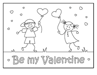 Spectacular Kids Valentine Coloring Pages 29 valentine coloring pages valentine