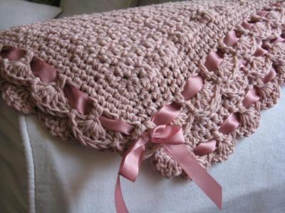 Tejido a dos agujas de manta para bebe cobijas tejidas - Como tejer mantas al crochet ...