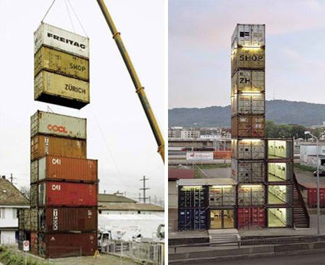 Shipping Container Projects more than a box: 14 more fun shipping container projects   boxning