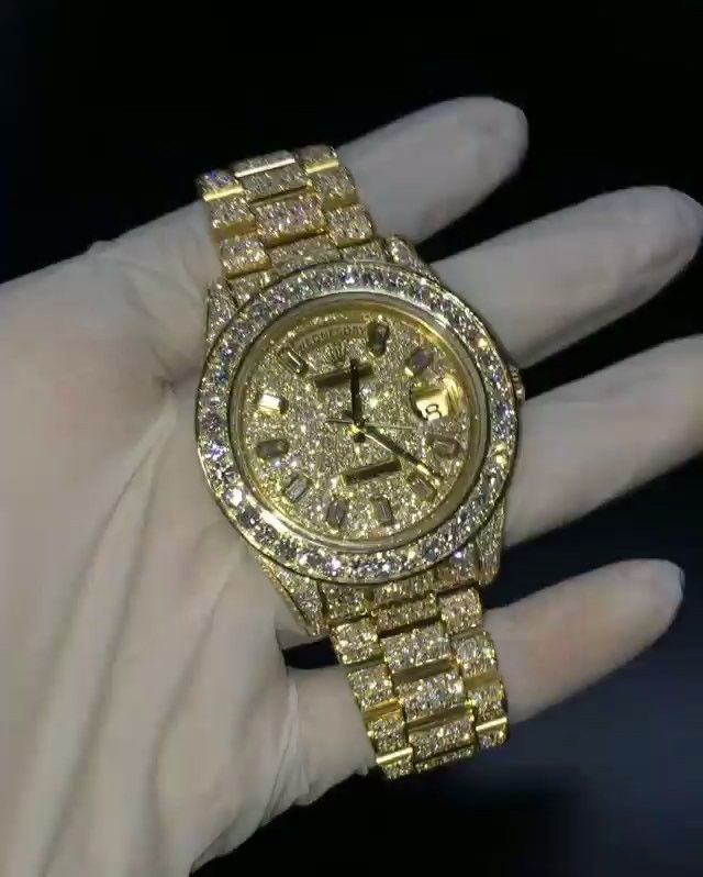 Pin By Bryan Dixon On Ugh8 In 2019 Gold Diamond Watches Rolex