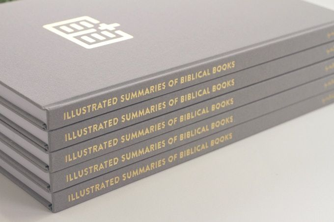 The Bible Projects I Coffee Table Book I Illustrated Summaries Of