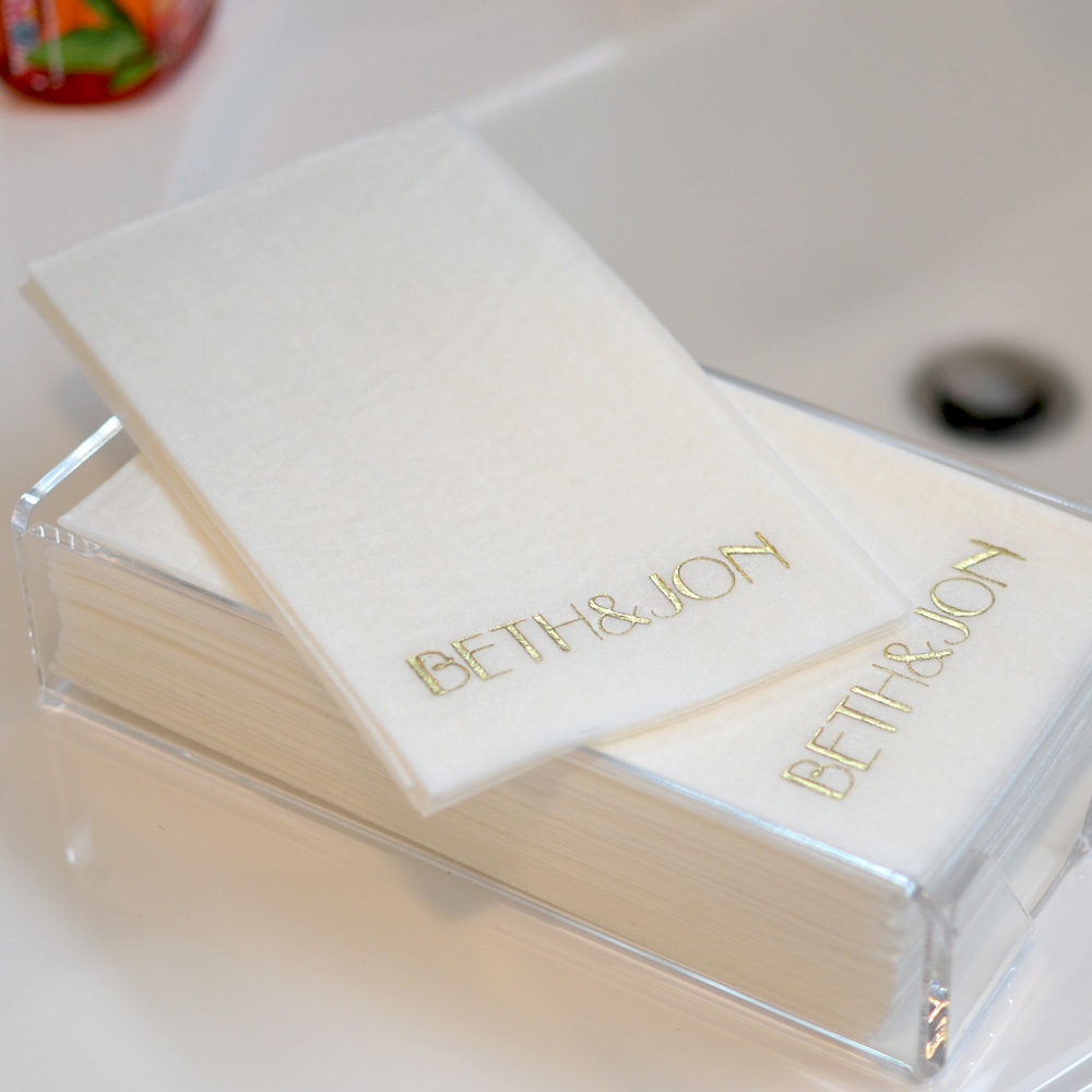 Fine Custom Printed Premium Masslinn Disposable Guest Towels Set Download Free Architecture Designs Viewormadebymaigaardcom