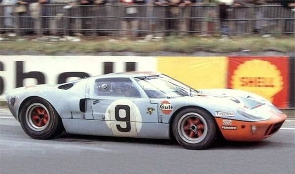 1968 Le Mans Winning Ford Gt40 Entered By J W Engineering For Pedro Rodriguez Lucien Bianchi From Stephaine Stevens Ford Gt40 Ford Racing Ford Gt