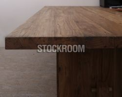 A Grade Quality Standford Solid Recycled And Reclaimed Elm Wood Dining Table By STOCKROOM Hong Kong Furniture Outlet Is On Sale